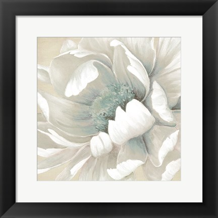 Framed Winter Blooms II Print