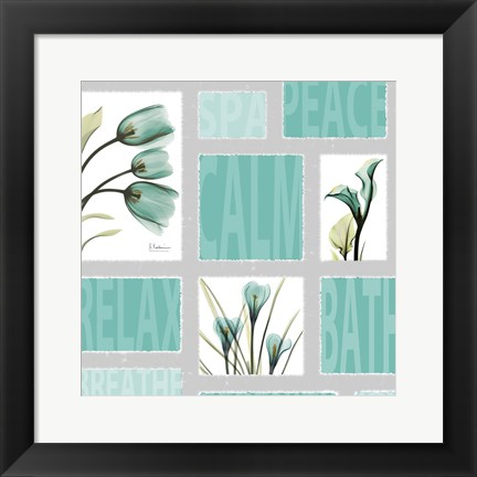 Framed Mondrian Spa Print