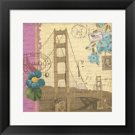 Framed Golden Gate Print