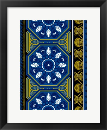 Framed Patterns 2 Print