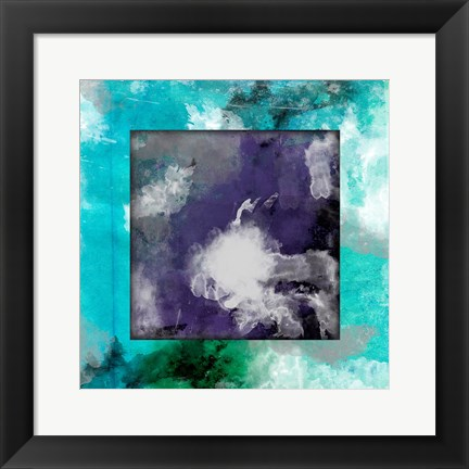 Framed Watercolor Boarder Print