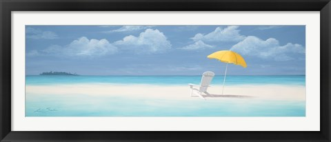 Framed Perfect Office Beach Print
