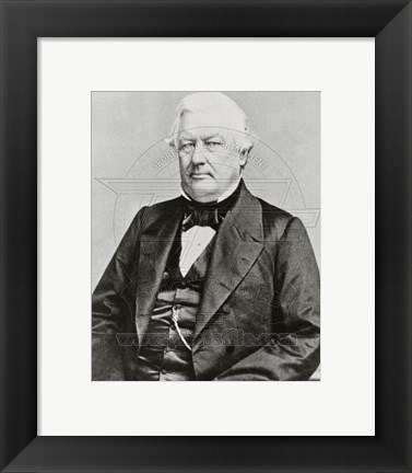 Framed Millard Fillmore, 13th President of the United States Print
