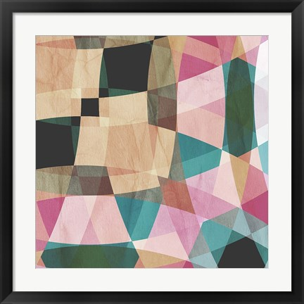 Framed Geometric Design 2 Print