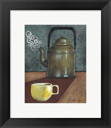 Framed Good Morning Mugs I Print