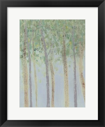 Framed Hazy Woodlands I Print