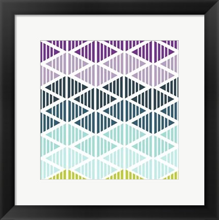 Framed Tribal Arrows IV Print