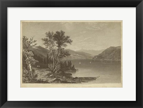Framed Lake George Print