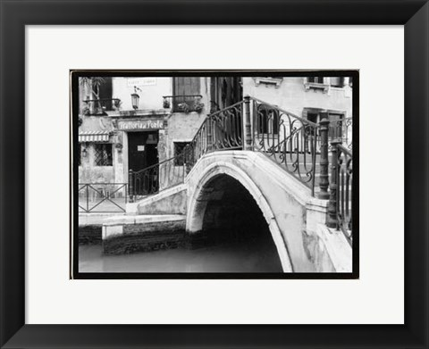 Framed Hidden Passages, Venice II Print
