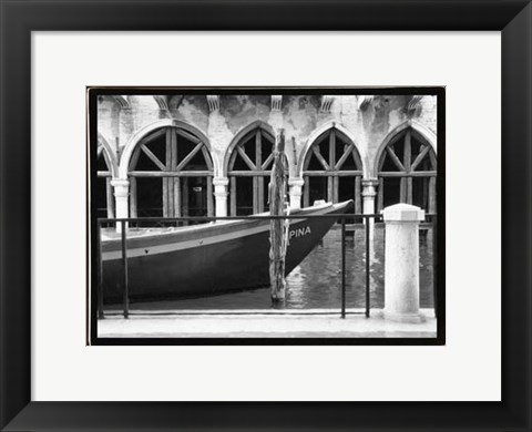Framed Hidden Passages, Venice IX Print