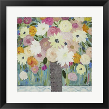 Framed Bask In The Beauty Of It All Print
