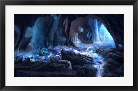 Framed River Styx Print