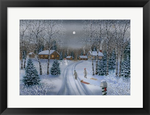 Framed Christmas Memories Print