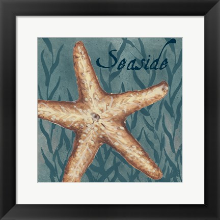 Framed Nautical Critters II Print