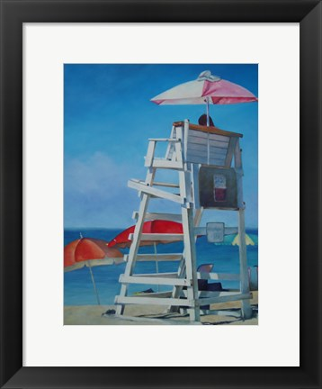 Framed Lifeguard Print