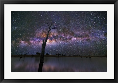Framed Night Sky 4 Print
