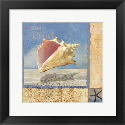 Framed Ocean Beauties II Print