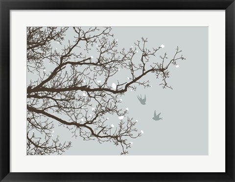 Framed Winter Whimsy Print