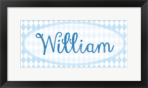 Framed William Print