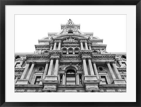 Framed City Hall Facade Print