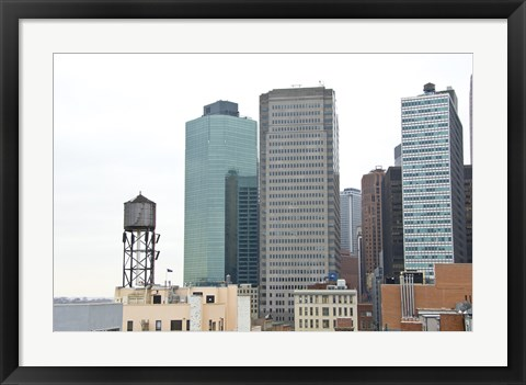 Framed Financial District Print
