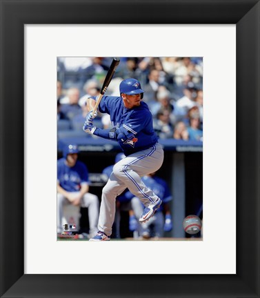 Framed Josh Donaldson 2015 Action Print