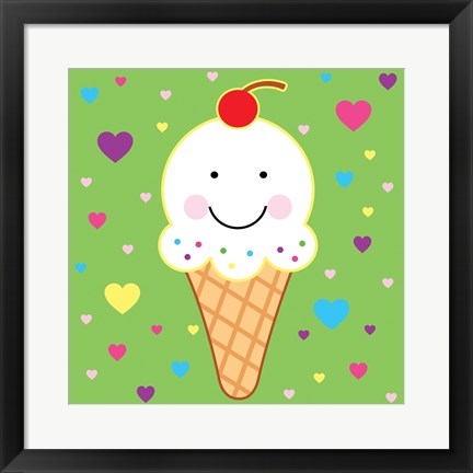 Framed Icecream Print