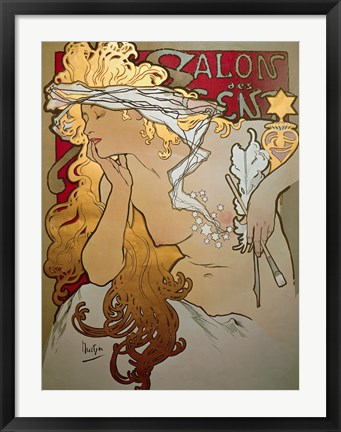 Framed Salon des Cents Print