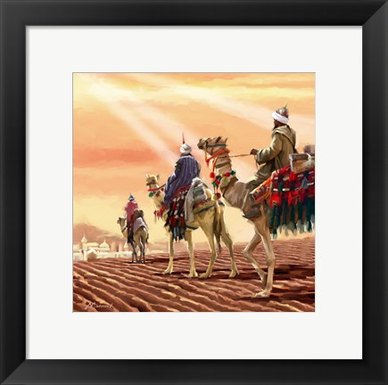 Framed Three Kings Print