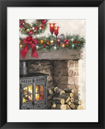 Framed Woodburner Print
