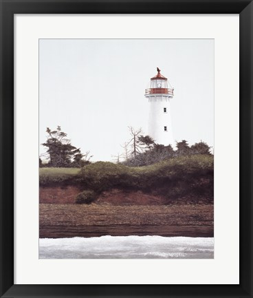 Framed Point Prim Light Print