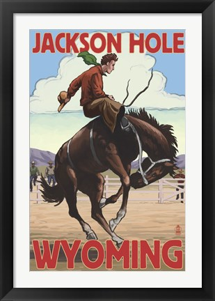 Framed Jackson Hole Wyoming Print