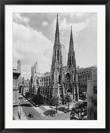 Framed Saint Patrick's Cathedral Print