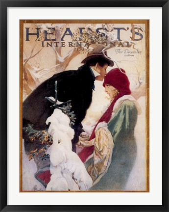 Framed Hearst Print