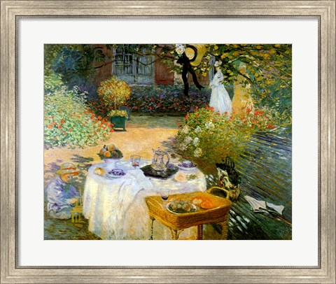 Framed Luncheon Print