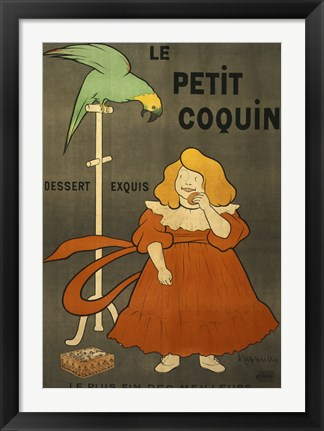 Framed Le Petit Coquin Print