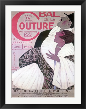 Framed Bal Couture Print