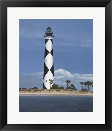 Framed Cape Lookout Print