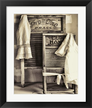 Framed Laundry Print