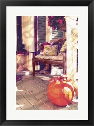 Framed New England Autumn IV Print