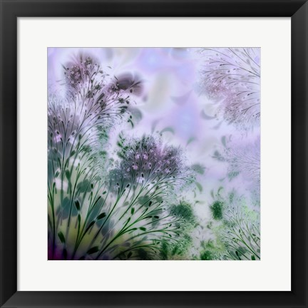 Framed Lavender Day Print