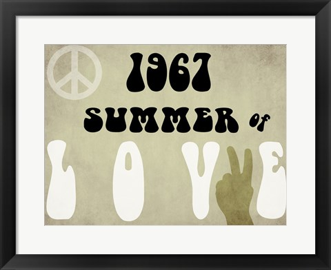 Framed Summer of Love Print