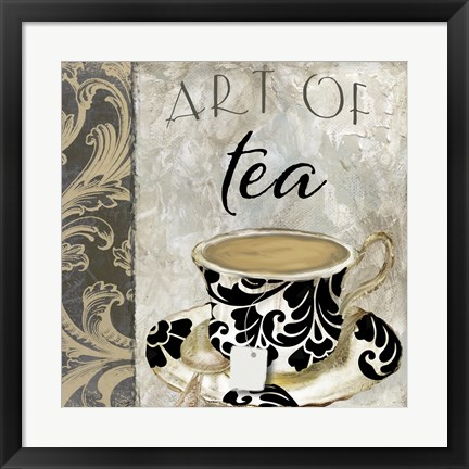 Framed Art of Tea I Print
