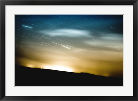 Framed Star Trails Print