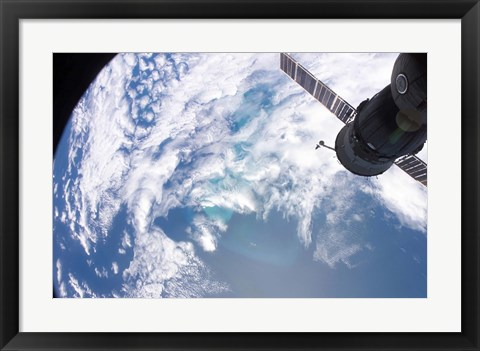 Framed South Atlantic Plankton Bloom Print