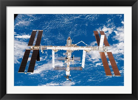 Framed Space Station Print