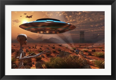 Framed Area 51 Print