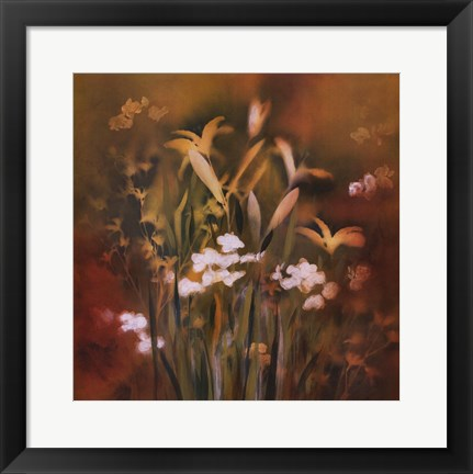 Framed Flora Luminous I Print