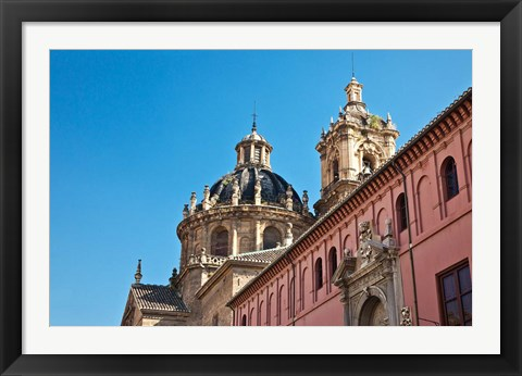 Framed Spain, Granada Church of San Justo y Pastor Print