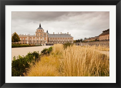Framed Spain, Madrid Region, Royal Palace at Aranjuez Print